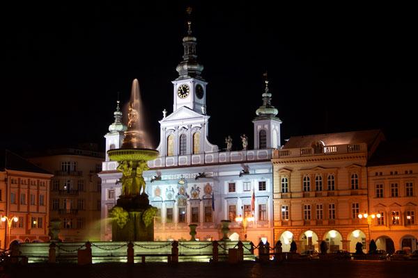 České Budějovice, náměstí Přemysla Otakara II.