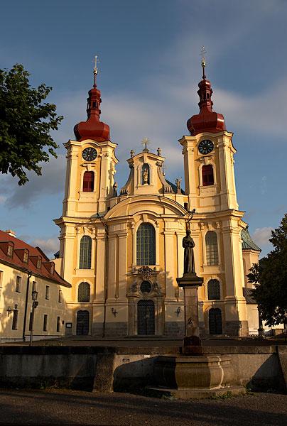 Kostel v Hejnicích