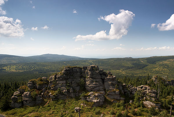 Jizera mountain - one of the hilltops