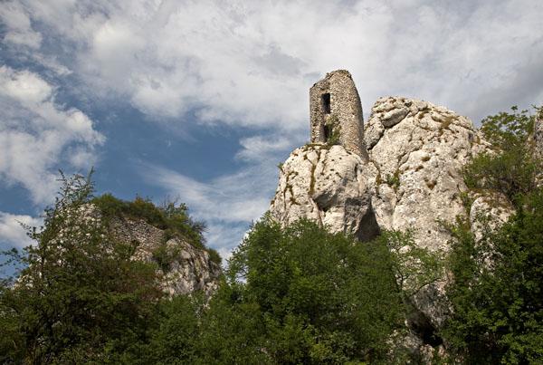 Ruins of Sirotčí castle